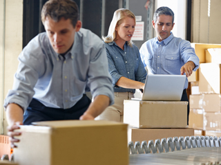 Service quality in warehousing